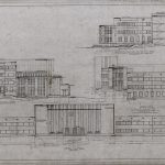 Administration Building Elevations, 1930. Source: Chicago Park District Records: Drawings, Drawing 3372_F.