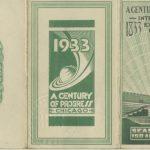 Century of Progress Season Pass, 1933. Source: Source: Special Collections, Century of Progress Collection, Box 21, Folder 1