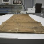 The drawing before conservation. Photographer: Kimberly Nichols