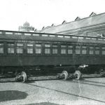 Early Pullman Train Car, circa 1890. Source: Historic Pullman Collection Image 1.17, Special Collections, Chicago Public Library