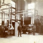 Pullman Factory Interior, undated. Source: Historic Pullman Collection Image 3.3, Special Collections, Chicago Public Library