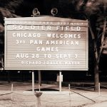 Chicago welcomes 3rd Pan-American Games, 1959. Source: Special Collections, Chicago Park District Records: Photographic Negatives, 033_035
