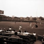 Some baseball games for the 1959 Pan-American Games were played at Wrigley Field. Source: Special Collections, Chicago Park District Records: Photographic Negatives, 033_015_001