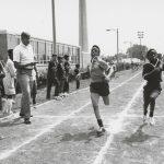 Track meet, Abbott Park, 1969.