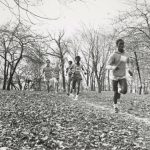 Cross country race, Riis Park, 1970.
