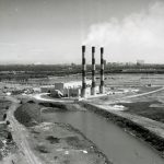 Incinerator at 103rd & Doty, 1959. Photograph by R.E. Murphy. Source: Department of Urban Renewal Records, Box 105, Folder 13, Special Collections, Chicago Public Library