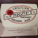 Armour's Unscented No. III Signet Soap, circa 1910.