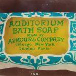Auditorium Bath Soap, circa 1910.