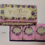 Virgin Violet soap, circa 1910.