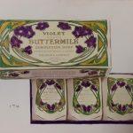 Violet Scented Buttermilk soap, circa 1910.