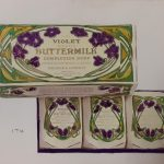 Violet Scented Buttermilk soap, circa 1910.