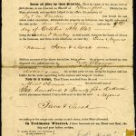 Sheriff's bill of sale to M. O'Connor for two enslaved women, Jane and Sarah, from Edward Mulligan, South Carolina