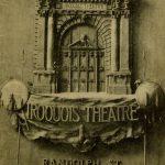 Iroquois Theatre playbill