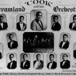 Orchestra and headshots of musicians