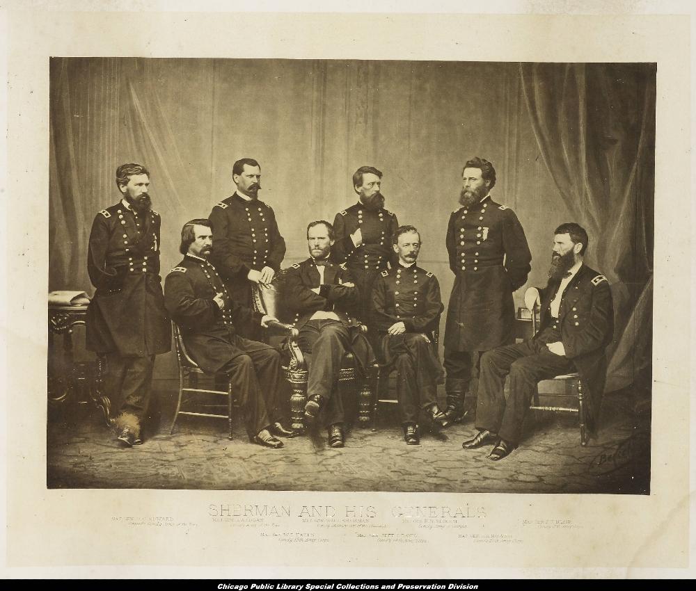 8 men in military uniforms