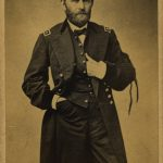 Man in uniform posing