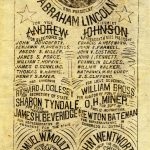 List of candidates including Abraham Lincoln