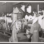 children perform a nativity play