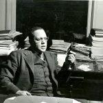 Horace Cayton at Good Shepherd Community Center, 1941. Source: Horace R. Cayton Papers, photo 037