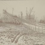 Ski slide, Humboldt Park, 1906. Source: Chicago Park District: Photographs, 157_006_003