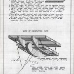 Page from kite building instructional manual, circa 1930. Source: Chicago Park District Drawings, CPD3644