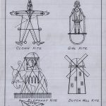 Page from kite building instructional manual, circa 1930. Source: Chicago Park District Drawings, CPD3645