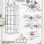 Page from kite building instructional manual, circa 1930. Source: Chicago Park District Drawings, CPD3654
