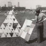 Kite event, Grant Park, 1968. Source: Chicago Park District Photographs, 031_022_007
