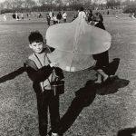 Wind kite contest, Grant Park, 1968. Source: Chicago Park District Photographs, 031_022_008
