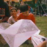 Kite event, circa 1997. Source: Chicago Park District Photographs, 143_035_001