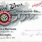 Birk Bros. Brewing Co. Brewers and Bottlers