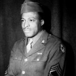 Walter K. Black during WWII (Source: Harsh Research Collection, Timuel D. Black Jr. Papers, Photo 485)