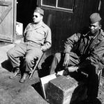 WWII soldiers (Source: Harsh Research Collection, Timuel D. Black Jr. Papers, Photo 018)