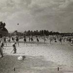 Beach volleyball, Calumet Park, 1935. Source: Chicago Park District Photographs, 013_002_005
