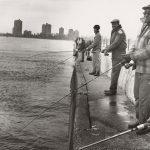 Coho Derby, Fishing, Jackson Park Pier, circa 1980. Source: Chicago Park District Photographs, 045_029_018