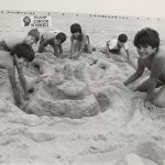 Sand sculpting contest, North Avenue Beach, Lincoln Park, [1982]. Source: Chicago Park District Photographs, 070_018_017