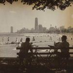 North Avenue Beach at Fullerton, Lincoln Park, circa 1965. Source: Chicago Park District Photographs, 071_005_004