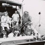 Therapeutic Recreation program, Fishing, circa 1985. Source: Chicago Park District Photographs, 115_010_004