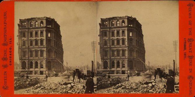 Chicago Fire ruine