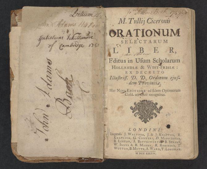John Adams's Cicero