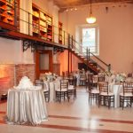 Photo of the Guastavino Room set up for an event