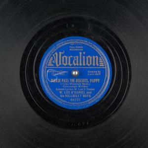 78 rpm record label
