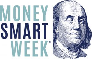 Money Smart logo with Ben Franklin