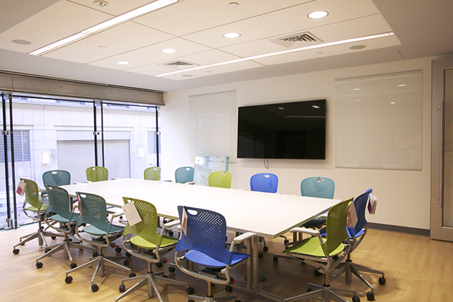 View of the Mezzanine Conference Room