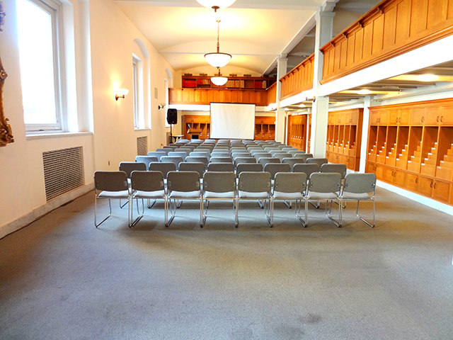 Photo of the Commonwealth salon meeting space
