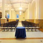 seating arrangement option for gustavino room