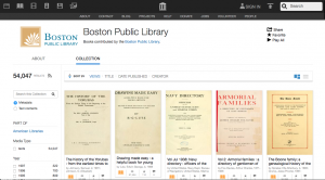 BPL Internet Archive collections page