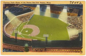 Fenway Park -- Home of the Boston Red Sox