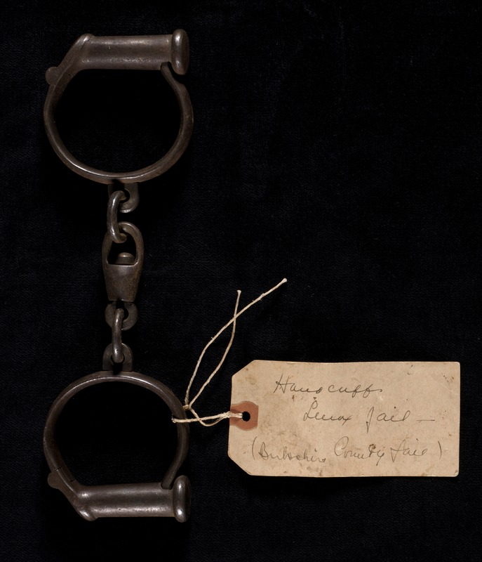 Manacles from the early 20th century