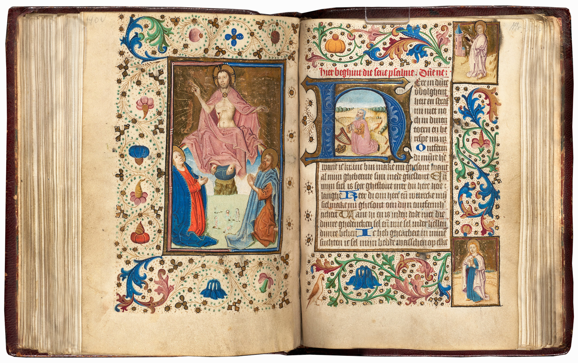 Medieval Manuscript Highlights: Books of Hours at the BPL | Boston